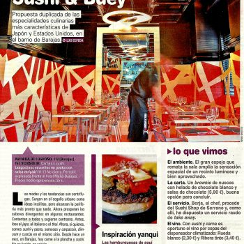 PRENSA 3 Sushi & Buey On Madrid